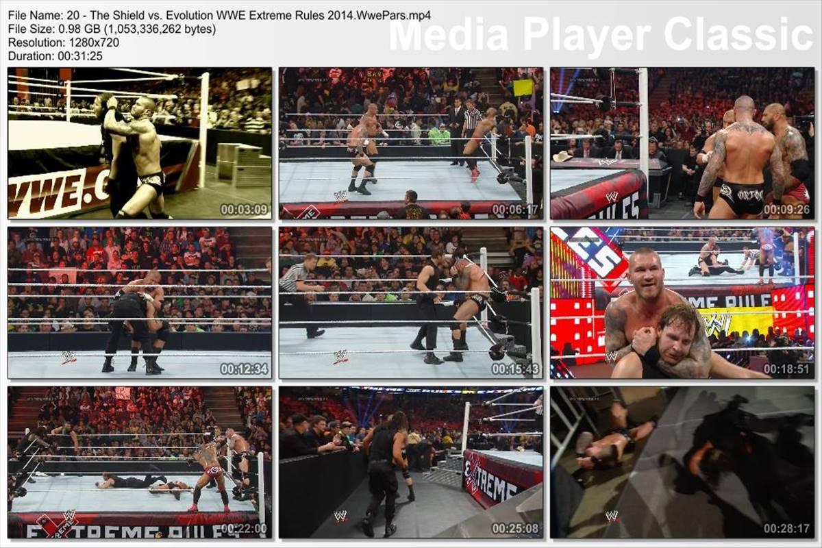 ( WWE Destruction Of The Shield 720p ( Blu-Ray